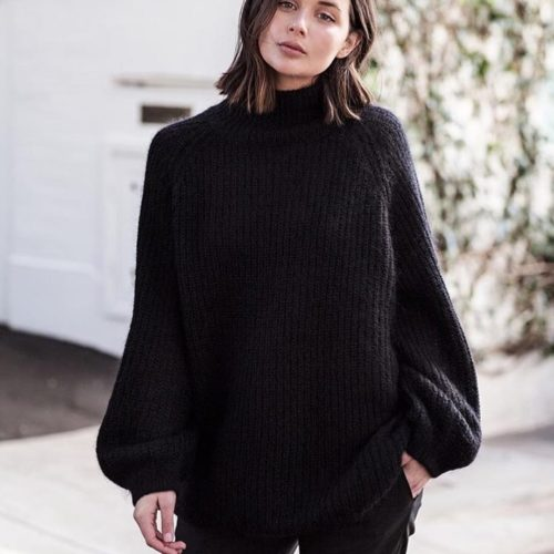 *swoon* @harperandharley can pull anything off. Shop this oversized beauty at @cosstores now. Plus don't miss their sale - there's up to 70% OFF!