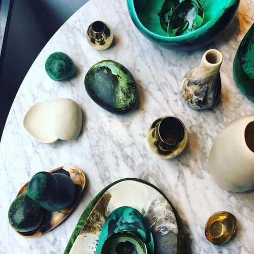 Bring your living room to life with @dinosaur_designs Moss Collection.
